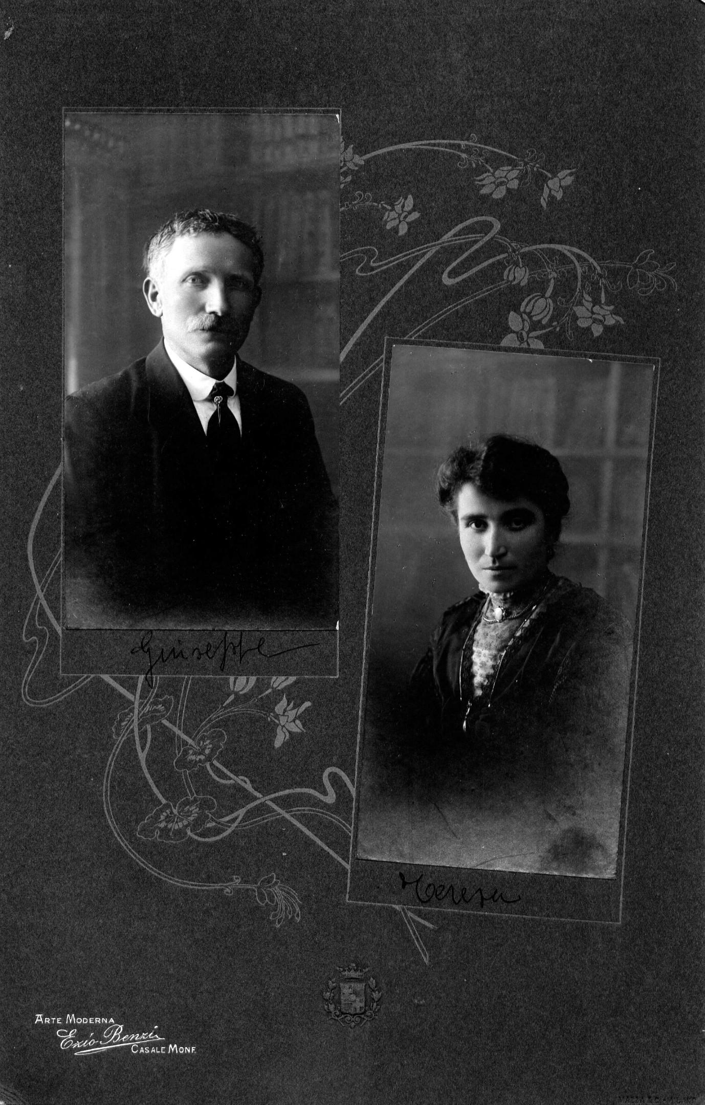 Pietro and Teresa Arditi