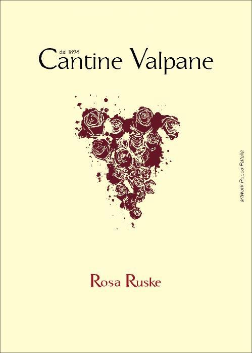 """""""Rosa Ruske"""" Vino Rosso (da uve Ruchè)"""