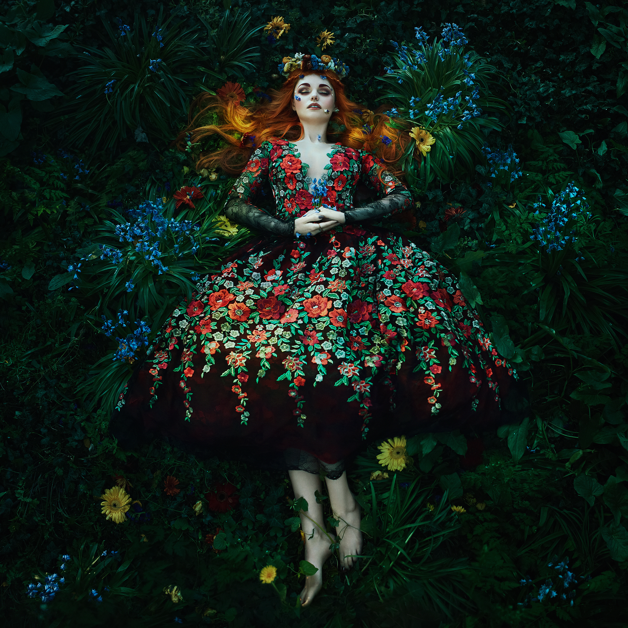 Eden    -   Bella Kotak.  Limited edition 60 x 60cm print with border -1 of 25. £180 - print only. To order contact:  info@elementstudios.co.uk