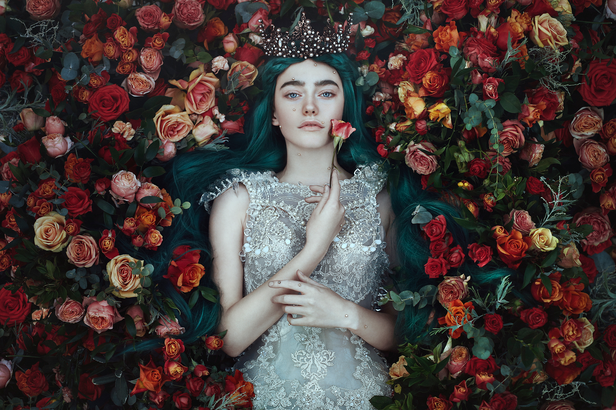 What the Earth Gave Me    -  Bella Kotak.  Limited edition 60 x 60cm print with border- 1 of 25. £180 - print only. To order contact:  info@elementstudios.co.uk
