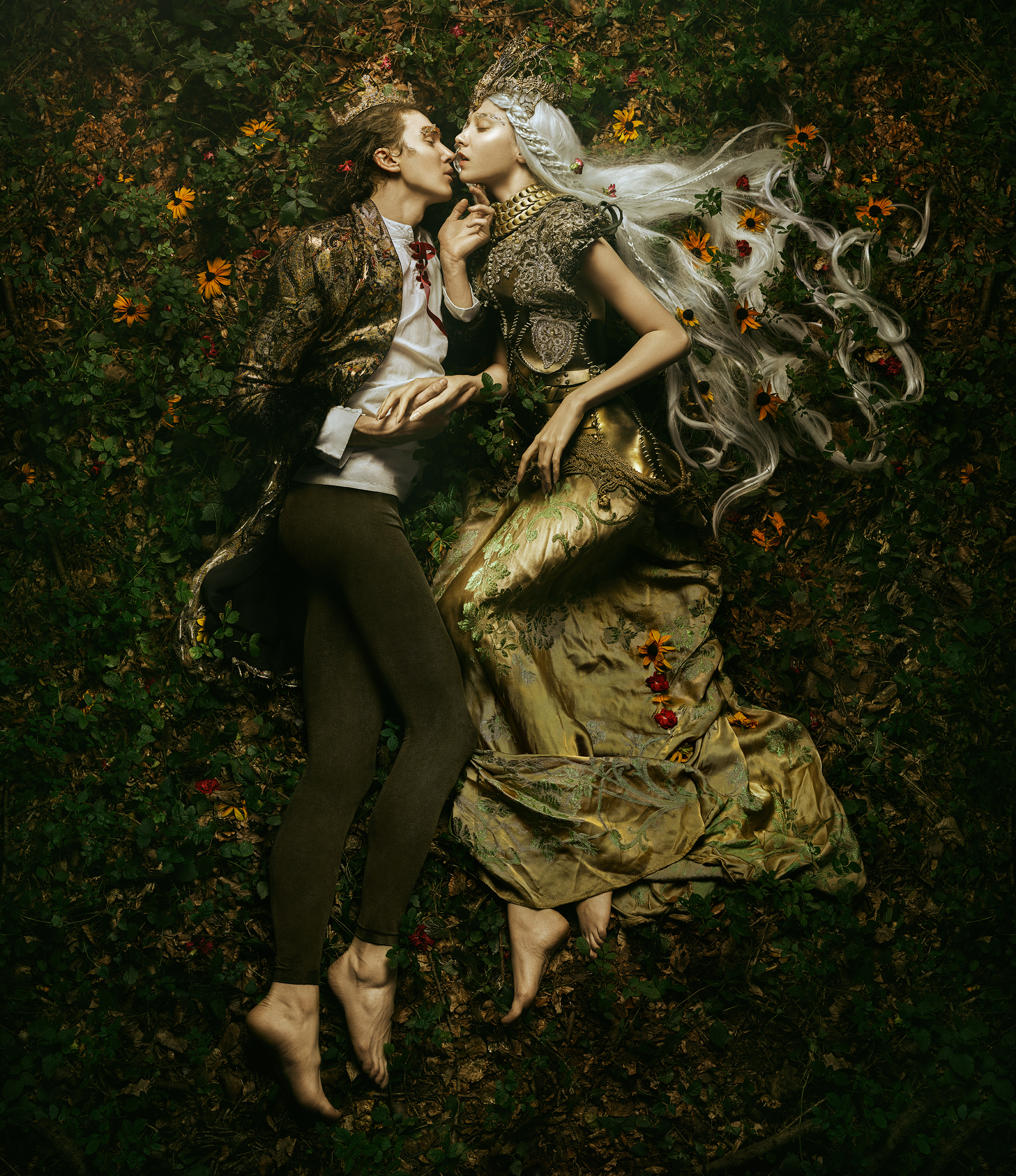The Kiss   -   Bella Kotak.  Limited edition 70 x 100cm print - 1 of 3. £450 - print only. To order contact:  info@elementstudios.co.uk