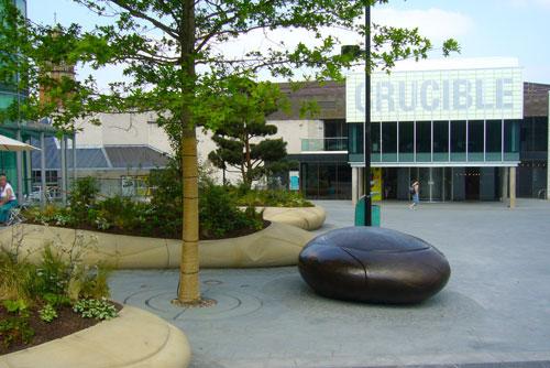 TUDOR SQUARE   The cultural heart of Sheffield.