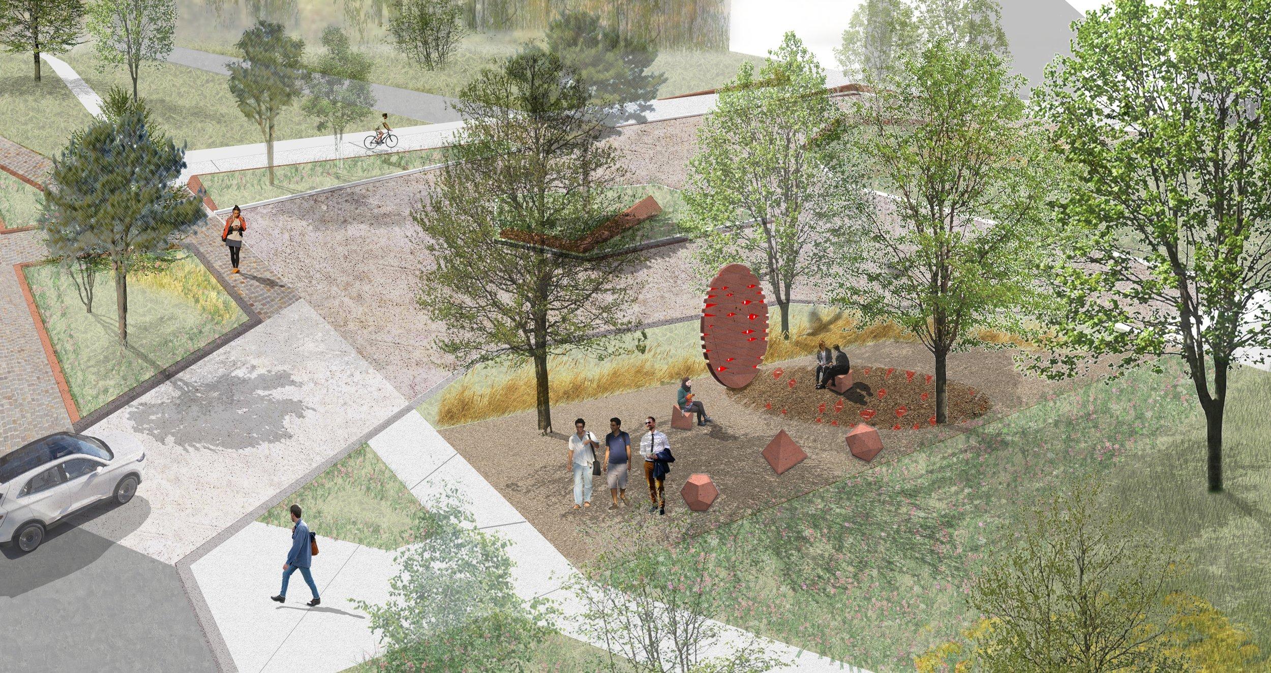 Sci-Tech Linear Garden