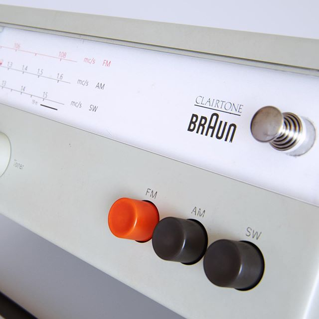 I've fallen in love... this style of design is just beautiful. #braun #iwantone #maker #ideas
