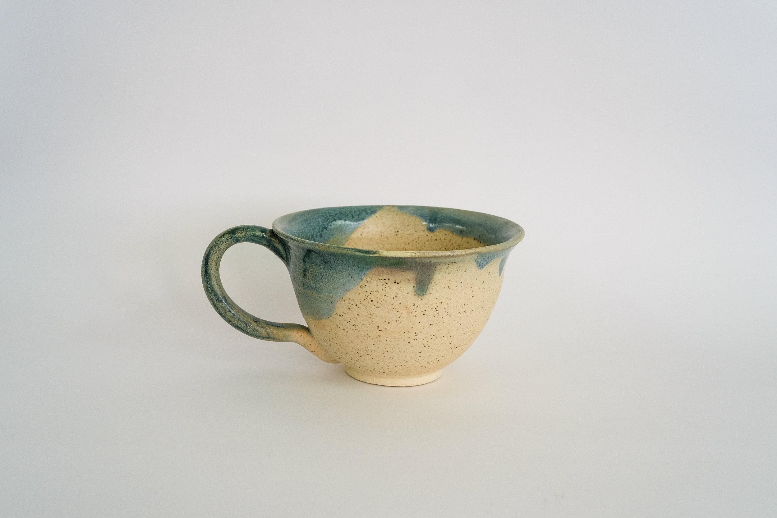 石器茶杯 Stoneware Teacup 2016
