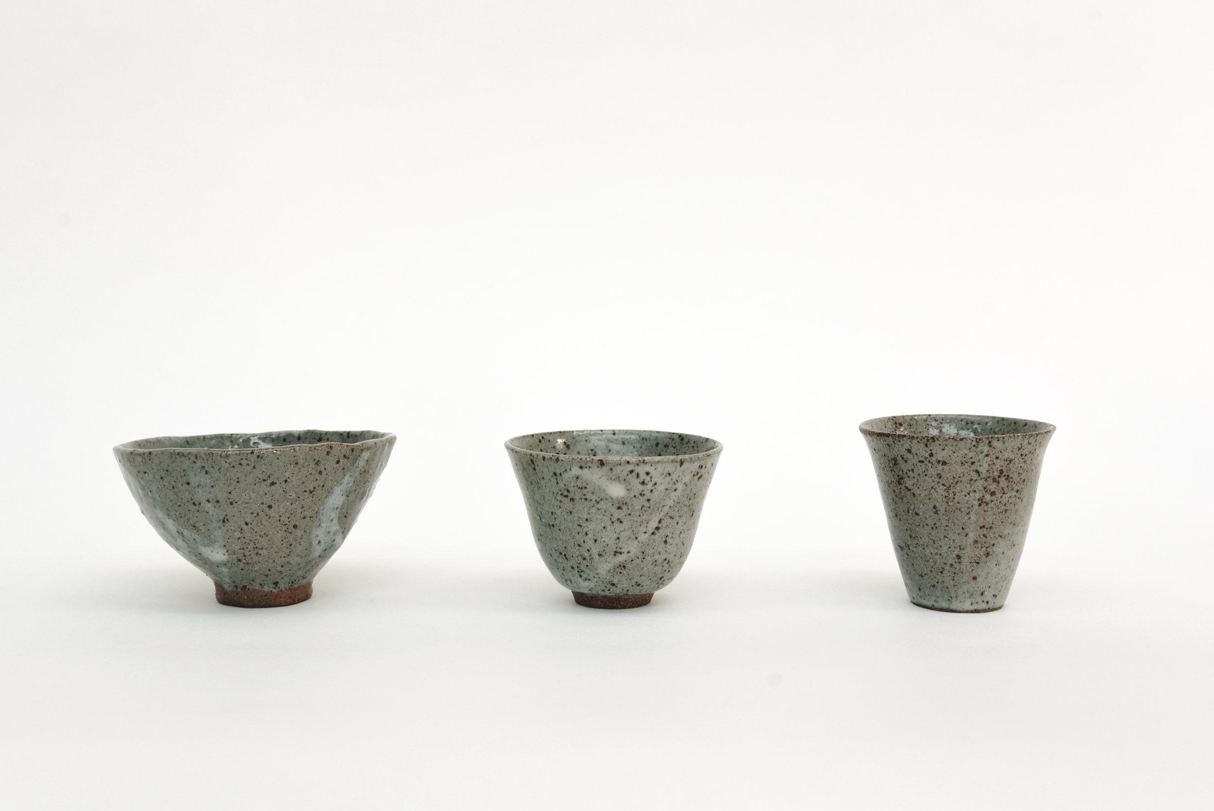 柴灰釉及還原燒製 ash glaze and reduction firing 2018