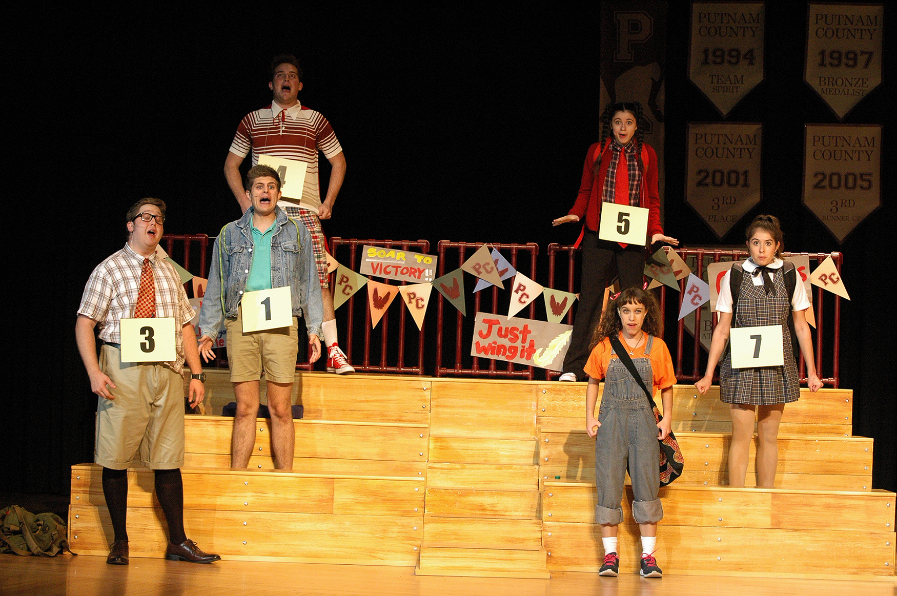 Flags, Posters and Numbers  - 25th Annual Putnam County Spelling Bee  (2016)