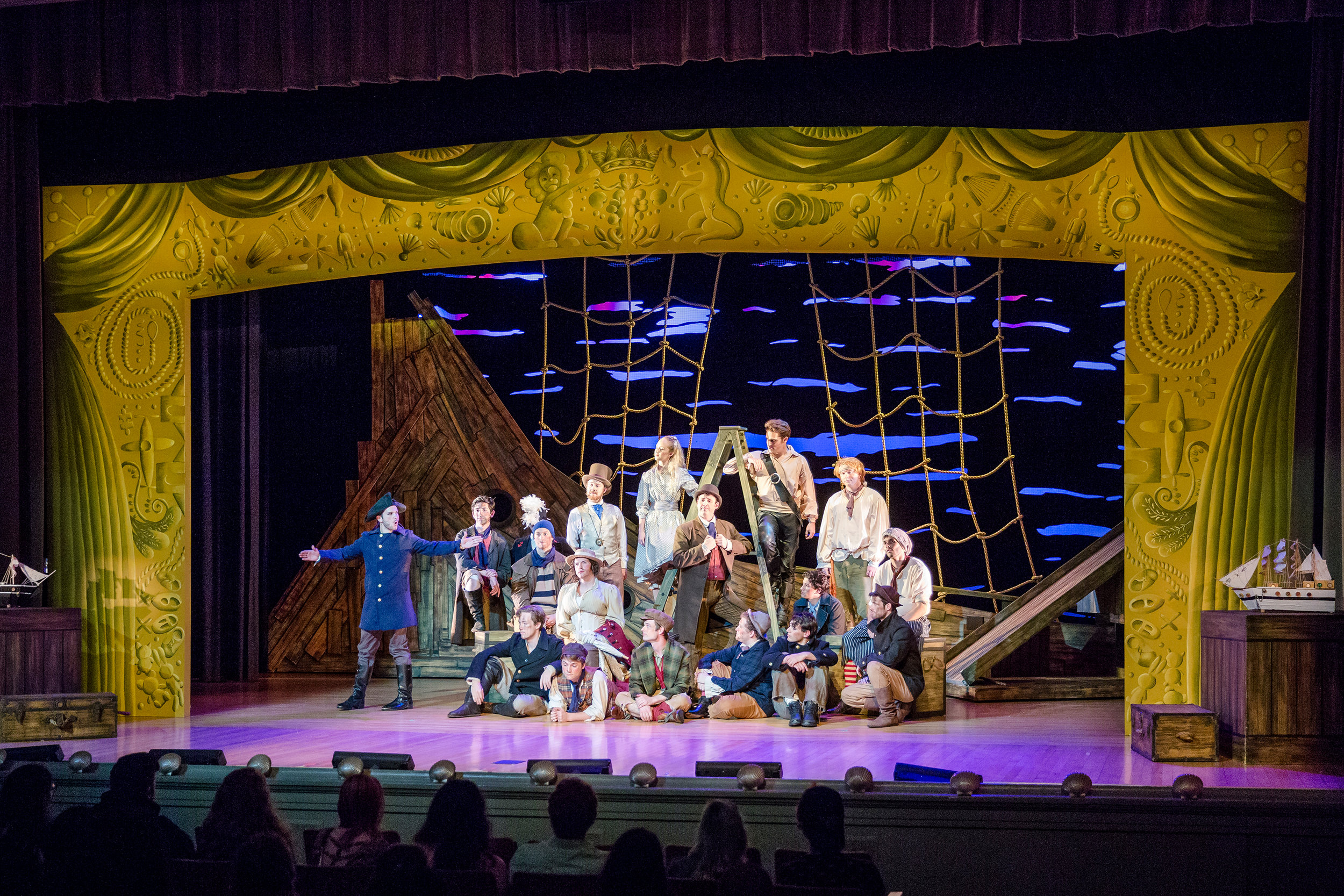 Opening of Act I-  Peter and the Starcatcher  (2016)