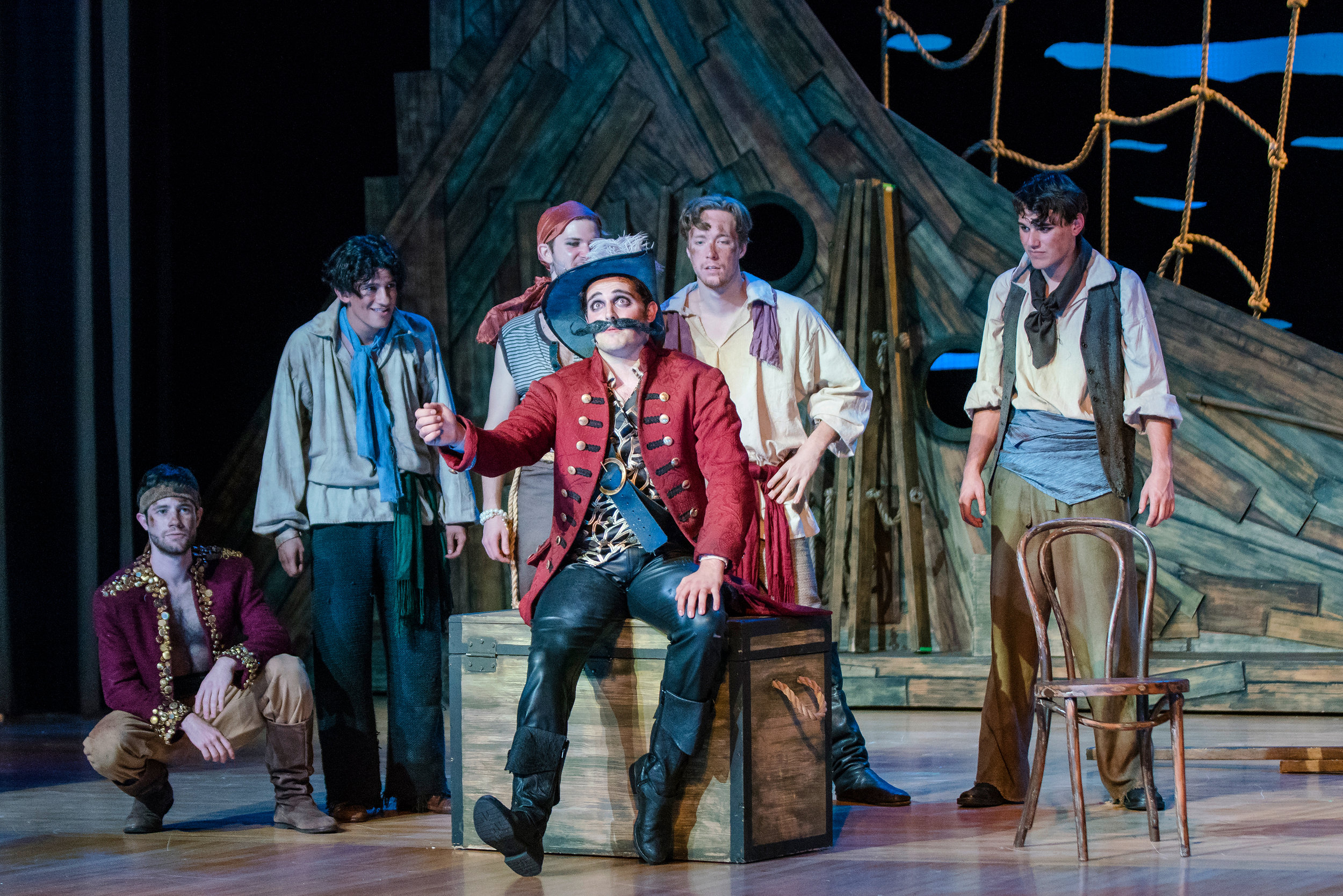 Stache and His Crew -  Peter and the Starcatcher  (2016)