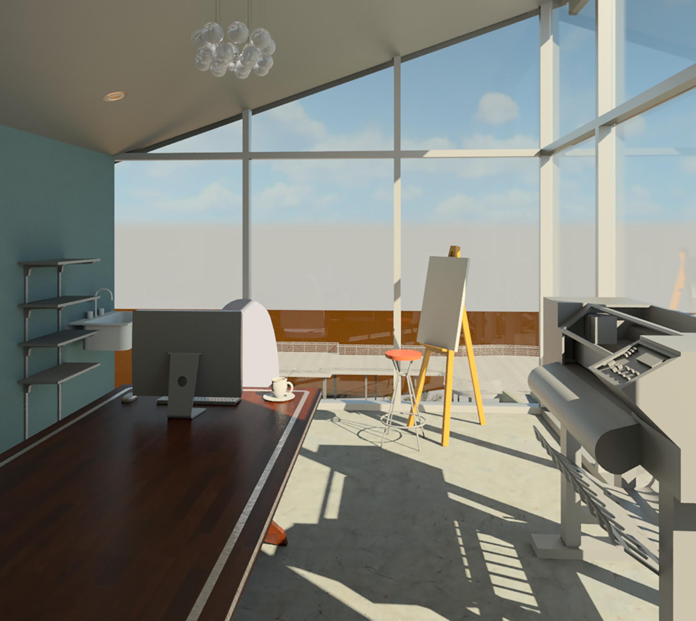 Roof Art Studio