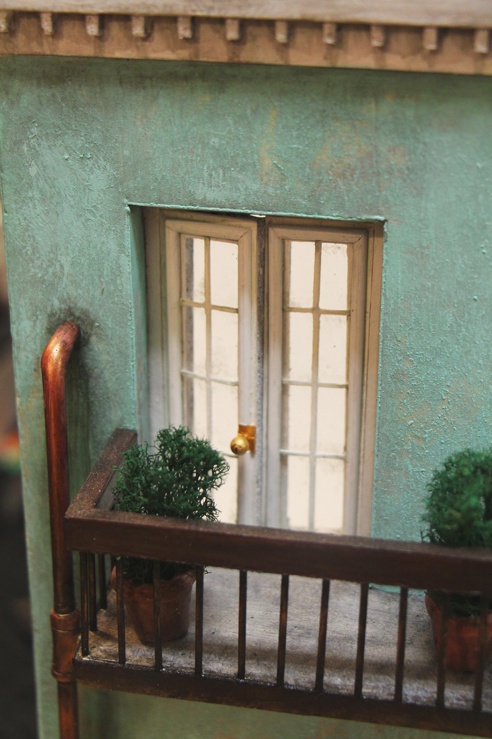 Balcony Closeup
