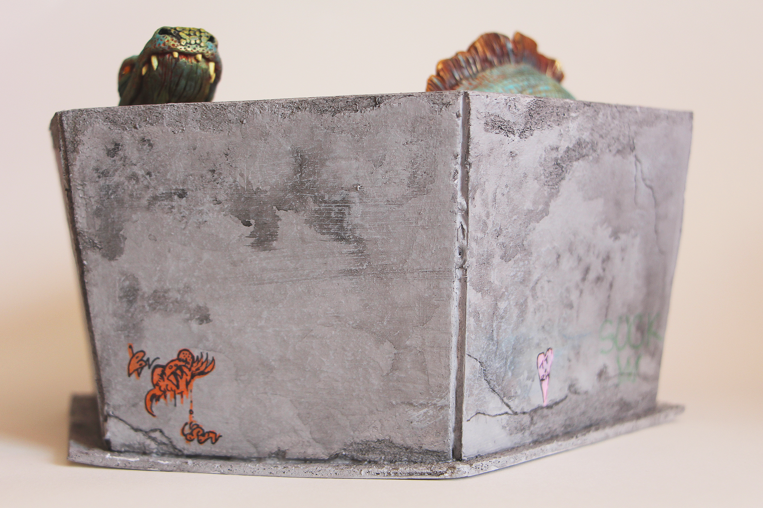 Concrete Wall Closeup