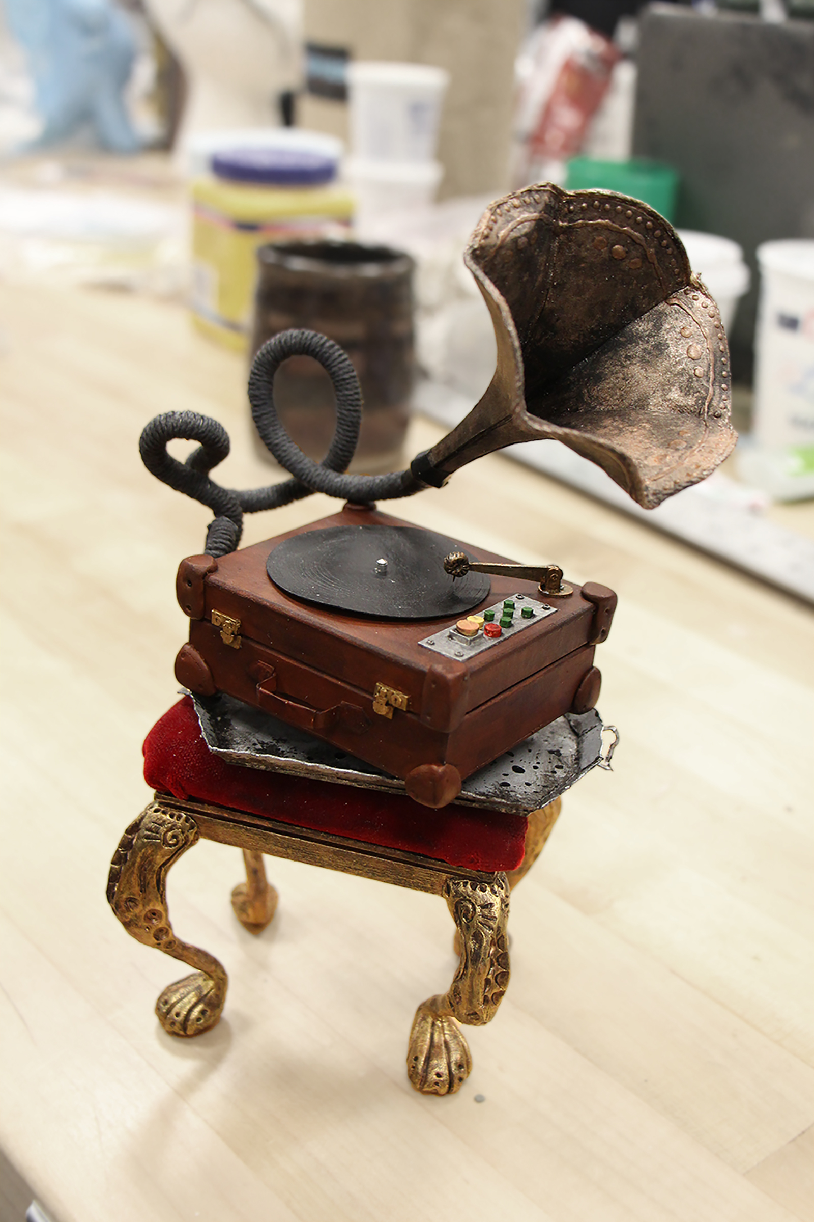 Gramophone Prop