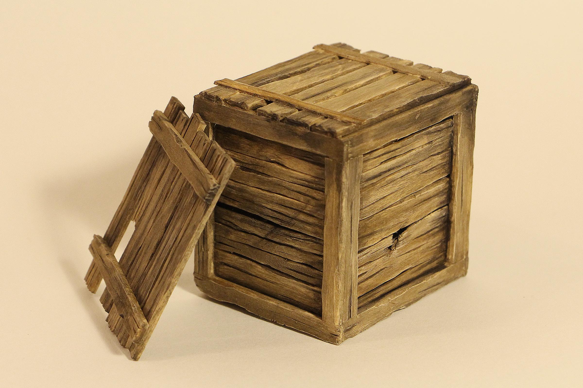 Wooden Crate Set Dressing