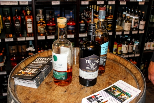 We finished up with a whiskey tasting with the lovely staff in The Celtic Whiskey Shop on Dawson Street. We were aglow with food and drink heading off into the afternoon.