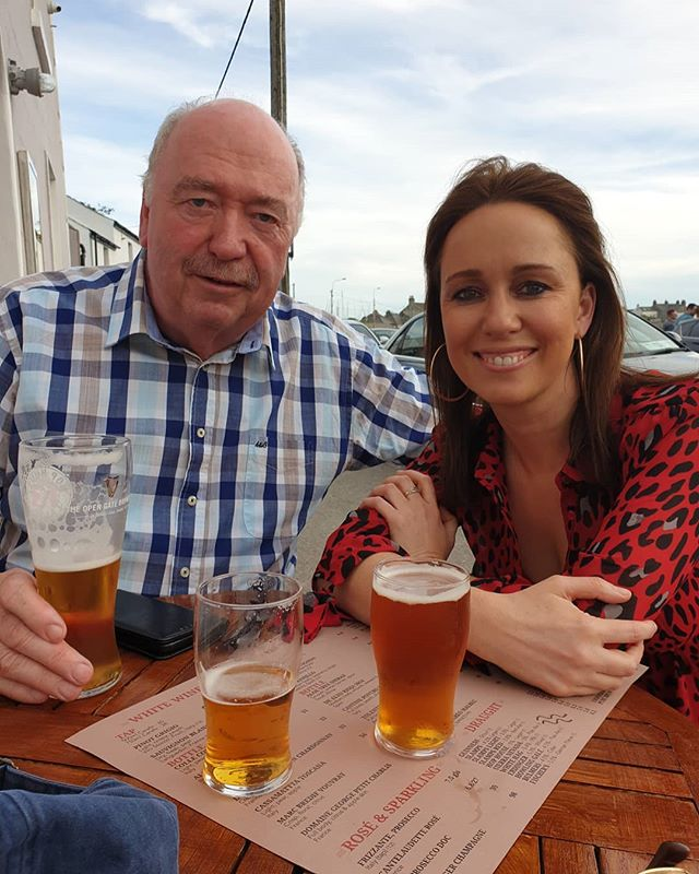 Late Father's day pints in Skerries