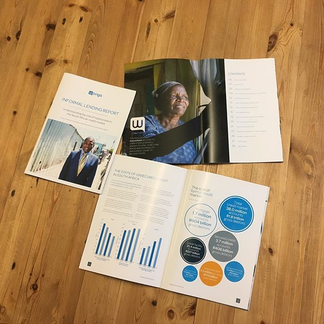 Check out our latest work hot off the press! Recently, we designed a research report for Wonga which helped communicate their incredible research on local mashonisas in an easy to read brochure.  #bdstudio_ct