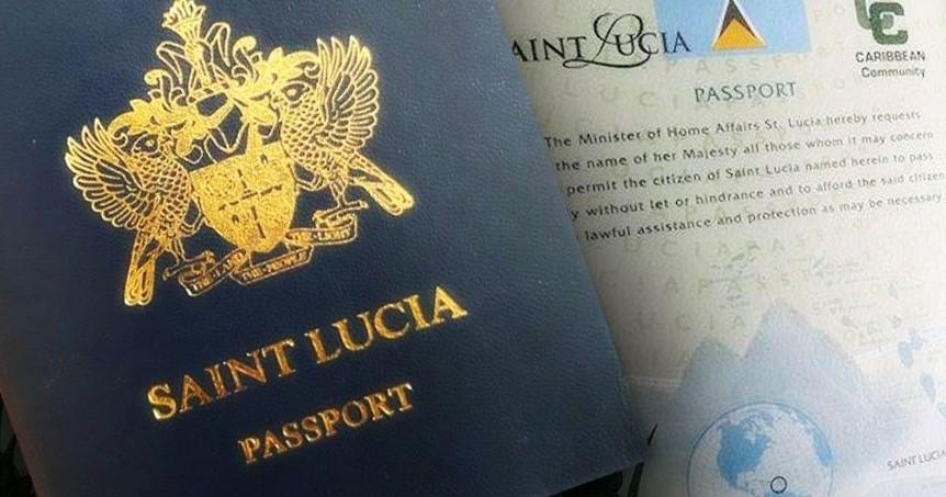 St lucia passport LIO global citizenship