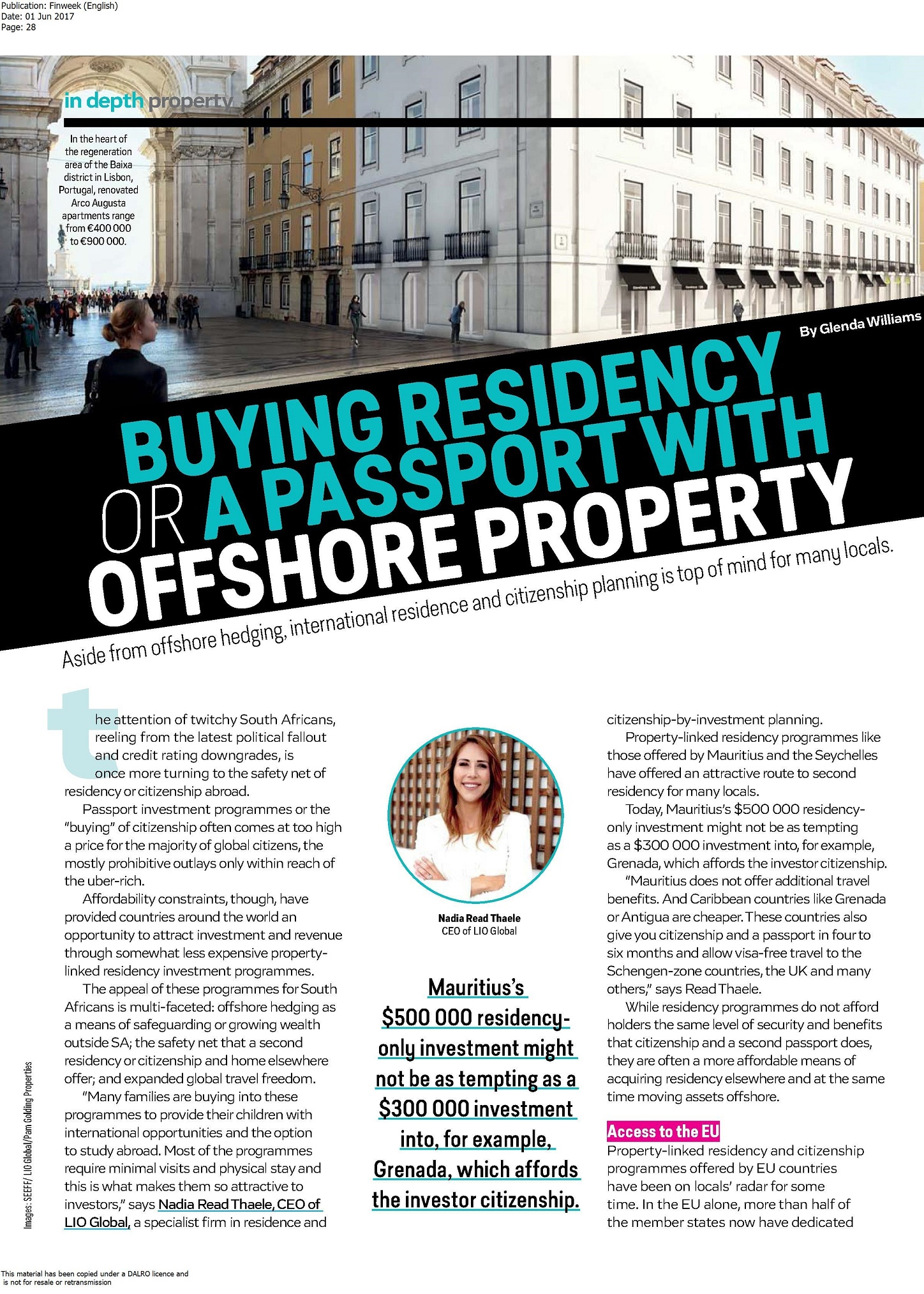 Finweek English LIO Global - pg 1 of 3 - Offshore property and visas incl. Malta - May 2017 (1).jpg