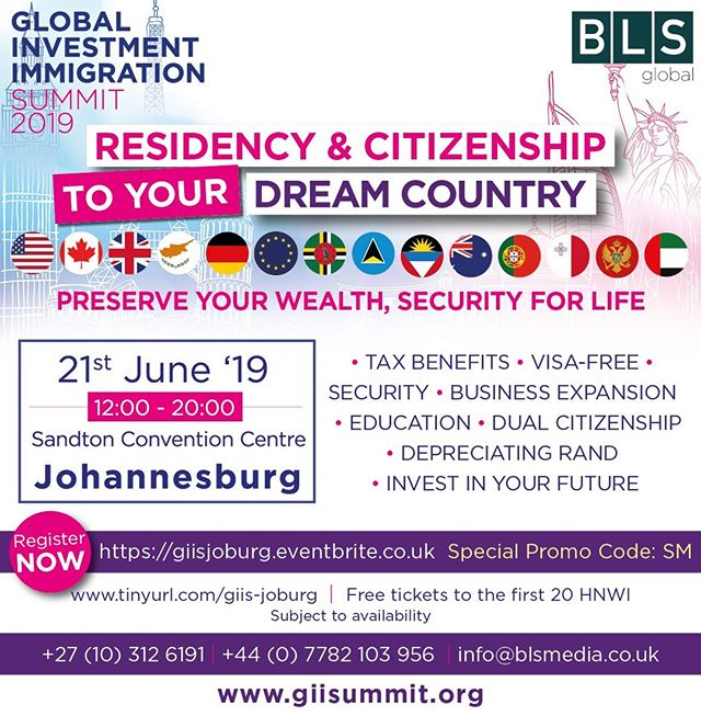 Come and visit LIO Global at the Global Immigration Summit in JHB this week
