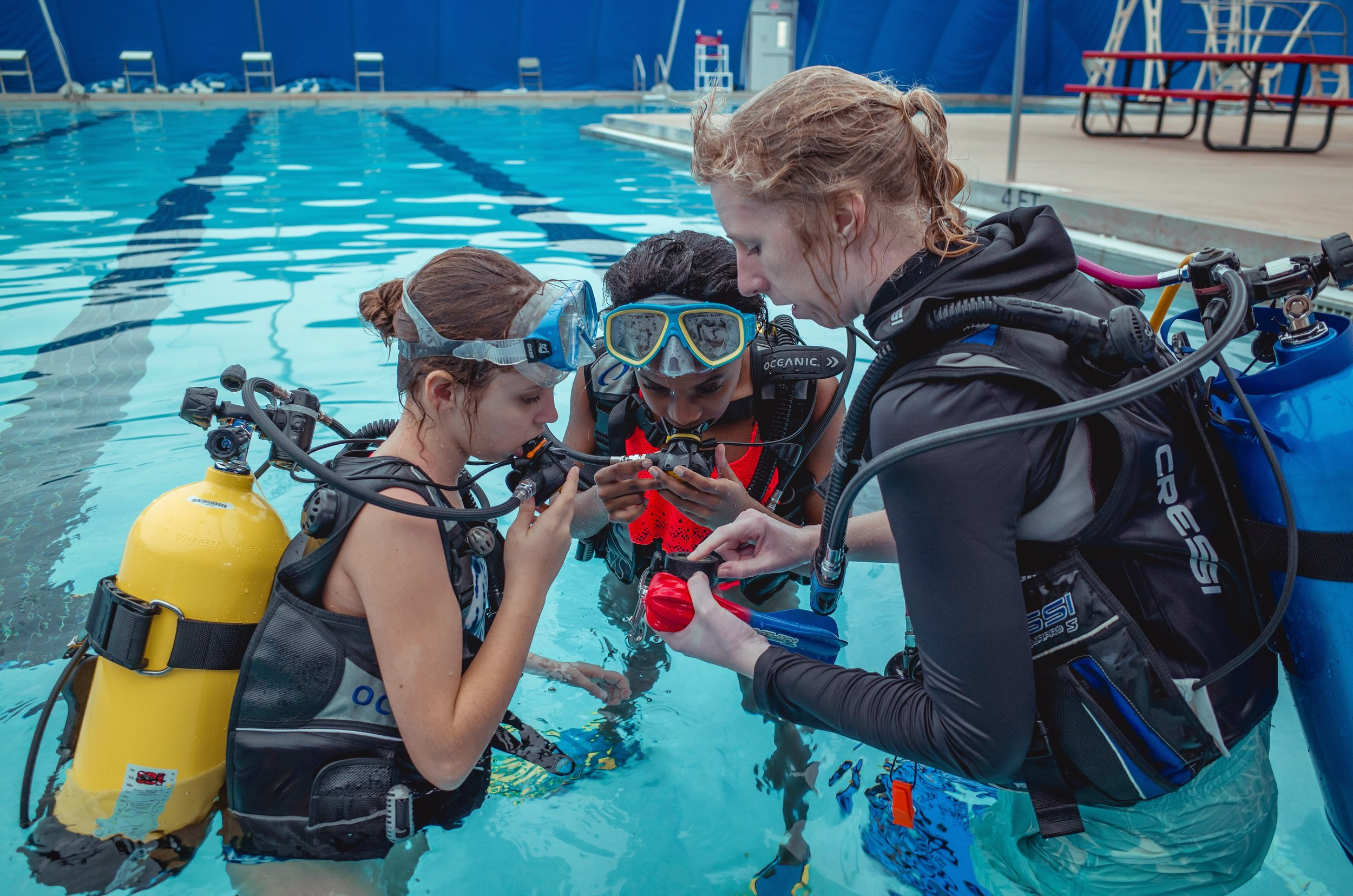 Scuba Classes - Learn to Scuba Dive