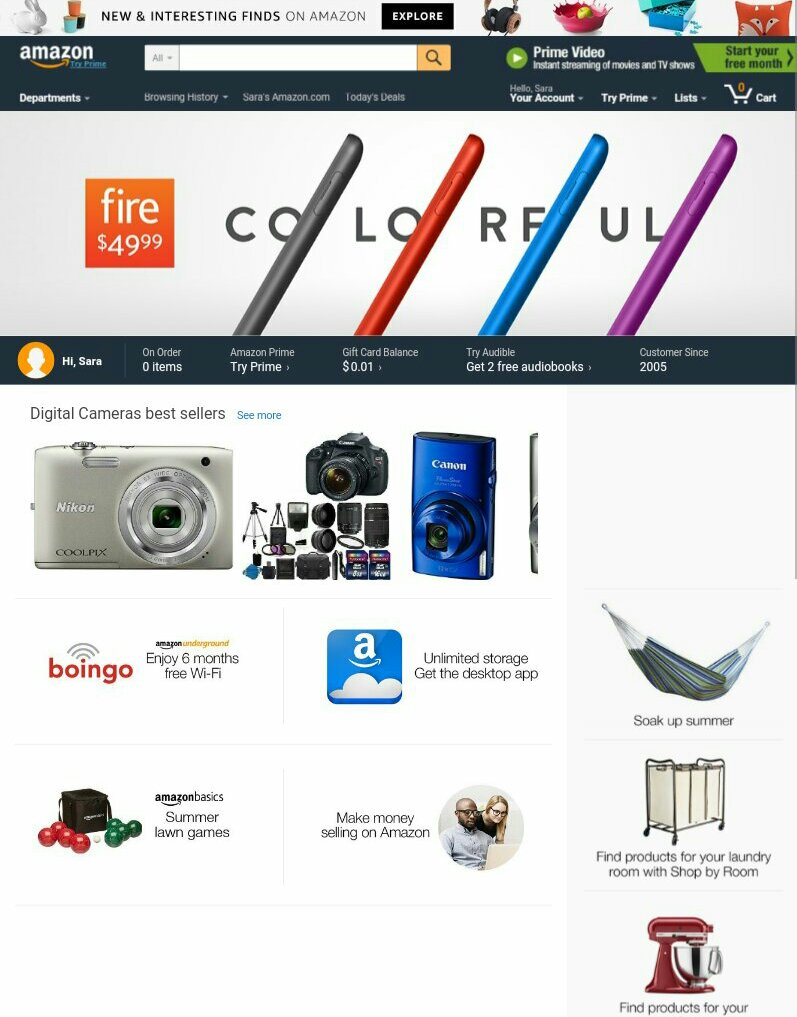 Amazon-Ebates-How to Make Money Shopping Online- whatthegirlssay.com