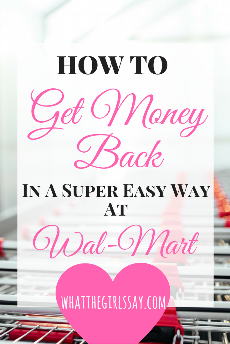 """How to Get Money Back in a Super Easy Way at Wal-Mart - whatthegirlssay.com - read now or PIN FOR LATER!! - Ready to get some money?! And, as this APP/website gives you money back on your purchases, this post can be great for both you Money Savers and/or Money Makers, depending on how you decide to look at it.  And it's REALLY easy!  It's called Wal-Mart Savings Catcher, and it acts as a """"price matcher"""" AFTER you've already made your purchase."""