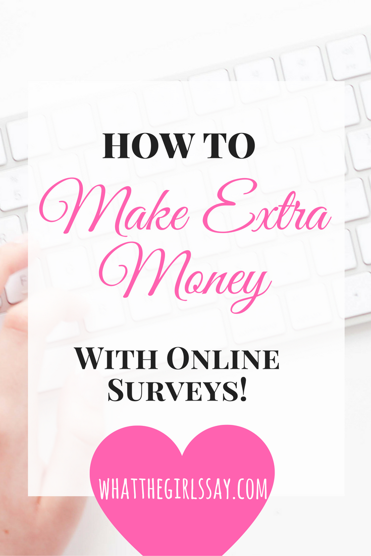 How to Earn Money Online With Survey Sites - whatthegirlssay.com - Make Money with Surveys