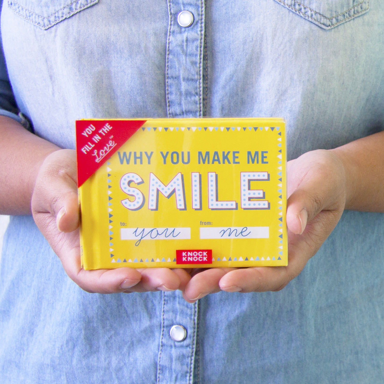 Knock Knock Review - Holiday Gift Guide - Why You Make Me Smile