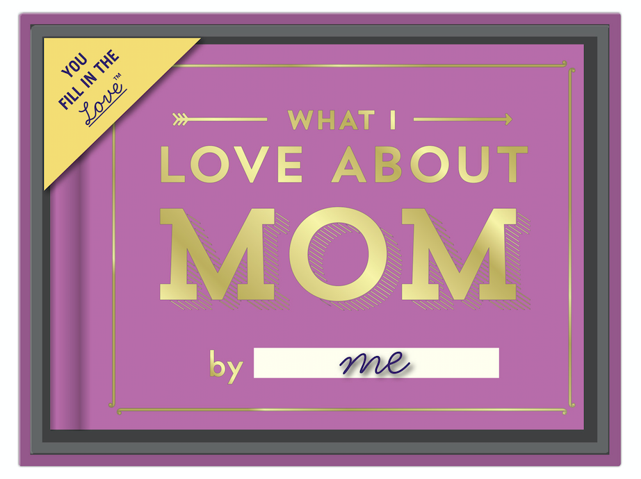 Knock Knock Review - holiday gift guide - what I love about Mom!