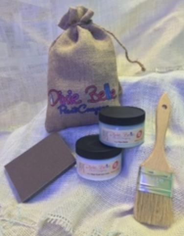 Dixie Bell Chalk Paint Review - whatthegirlssay.com