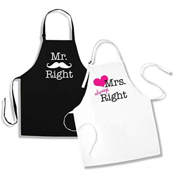 Mr. Right and Mrs. Always Right Gift Ideas - whatthegirlssay.com