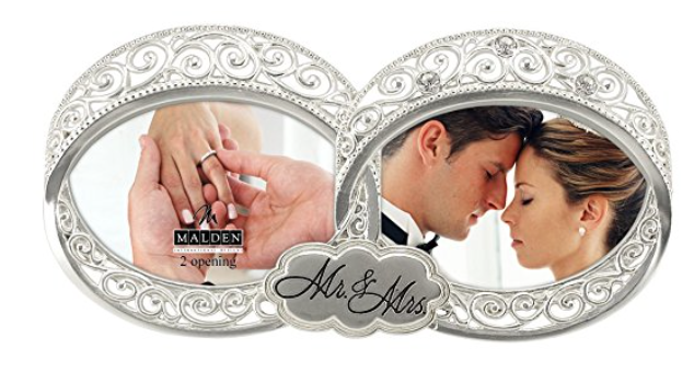 newlywed picture frames - whatthegirlssay.com