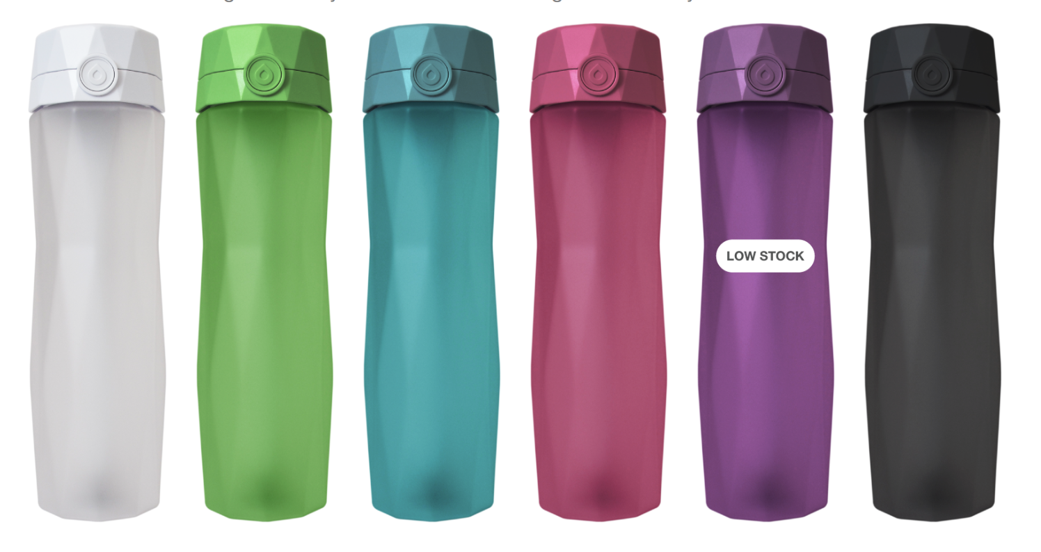 hidrate spark water bottle - whatthegirlssay.com