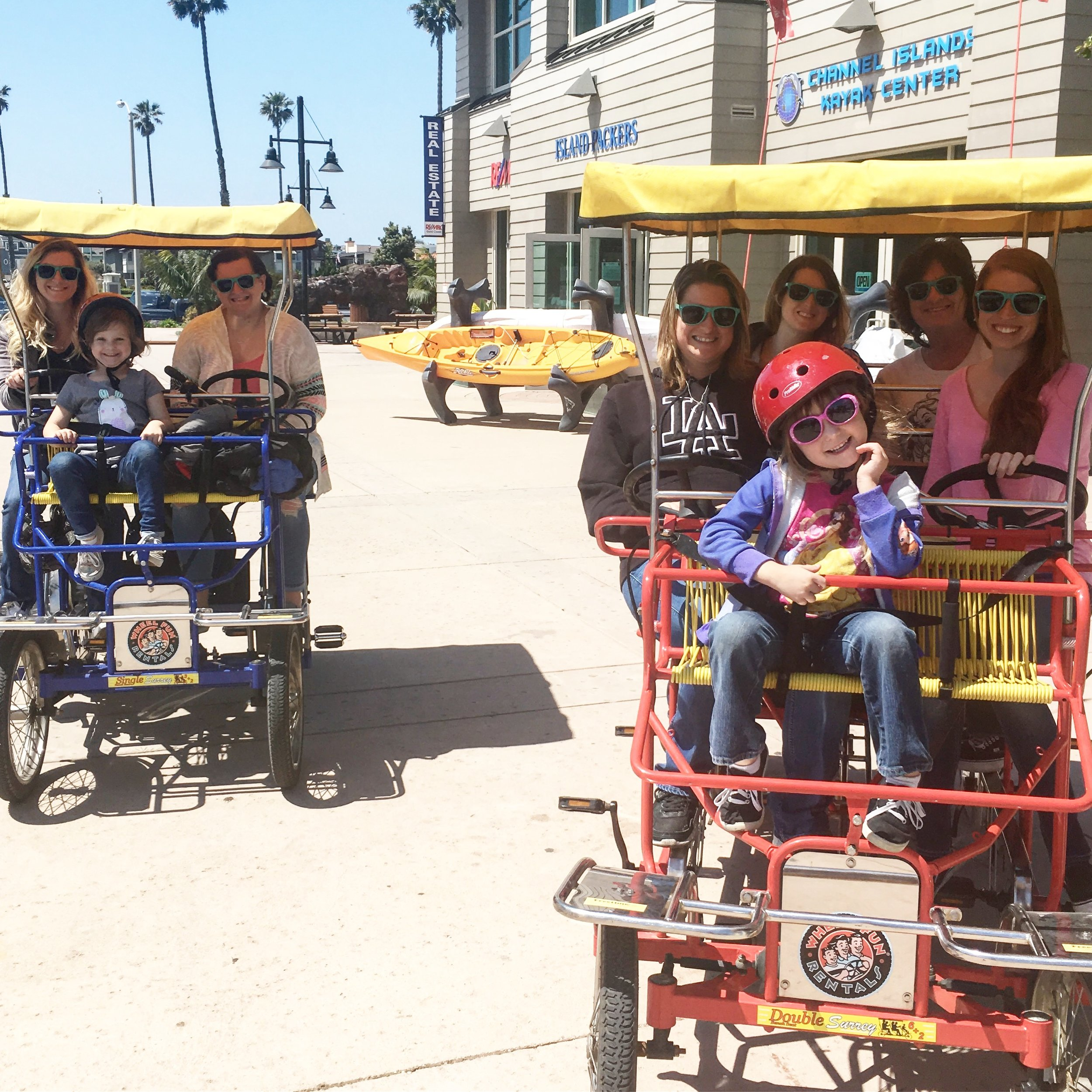 Wheel Fun Rentals - Ventura California - whatthegirlssay.com