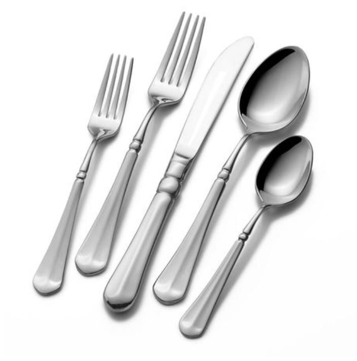 Lifetime Brands Review - Mikasa French Countryside Flatware - whatthegirlssay.com