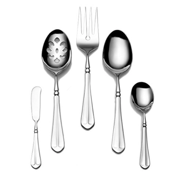 Lifetime Brands Review - Mikasa French Countryside Flatware Set - whatthegirlssay.com