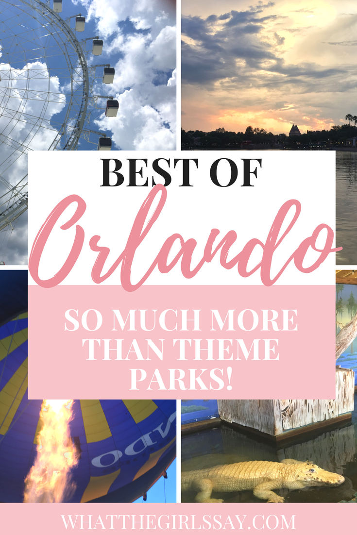 We have rounded up some awesome *Things to do in Orlando, Florida.  And these are *Things to do besides Disney!  Orlando Florida has so many things to do that are not just Disney!  Check out our list, and you'll be sure to find awesome and fun Things to do in Orlando for Adults, Families, and kids!