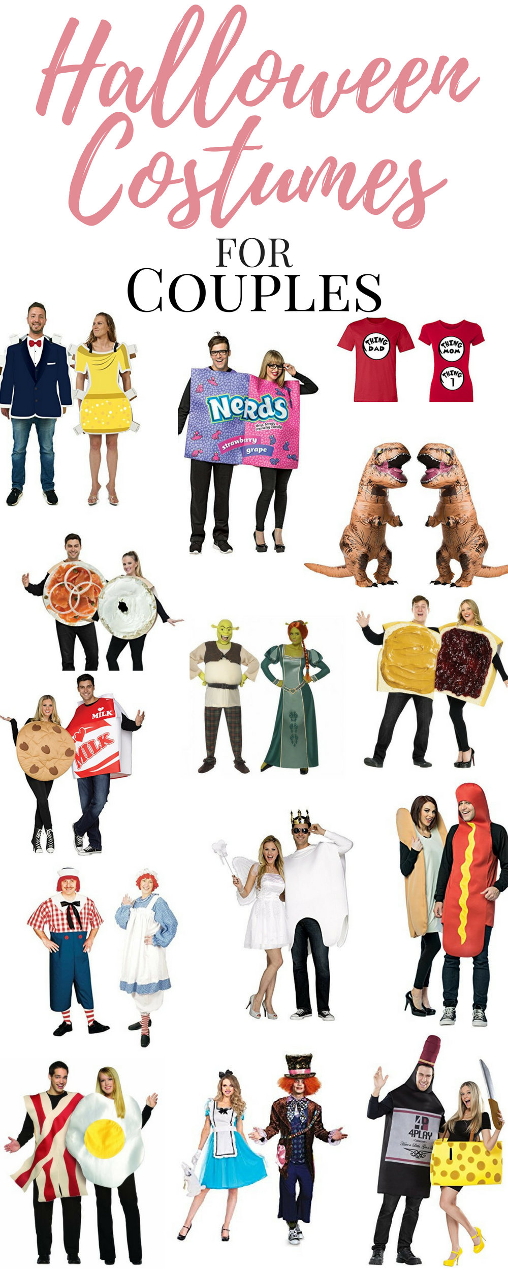Looking for some of the Best Halloween Costumes for Couples?  Unique, fun, couples costumes are all the rage, here are some great Halloween Costume Ideas for your next Halloween Party!