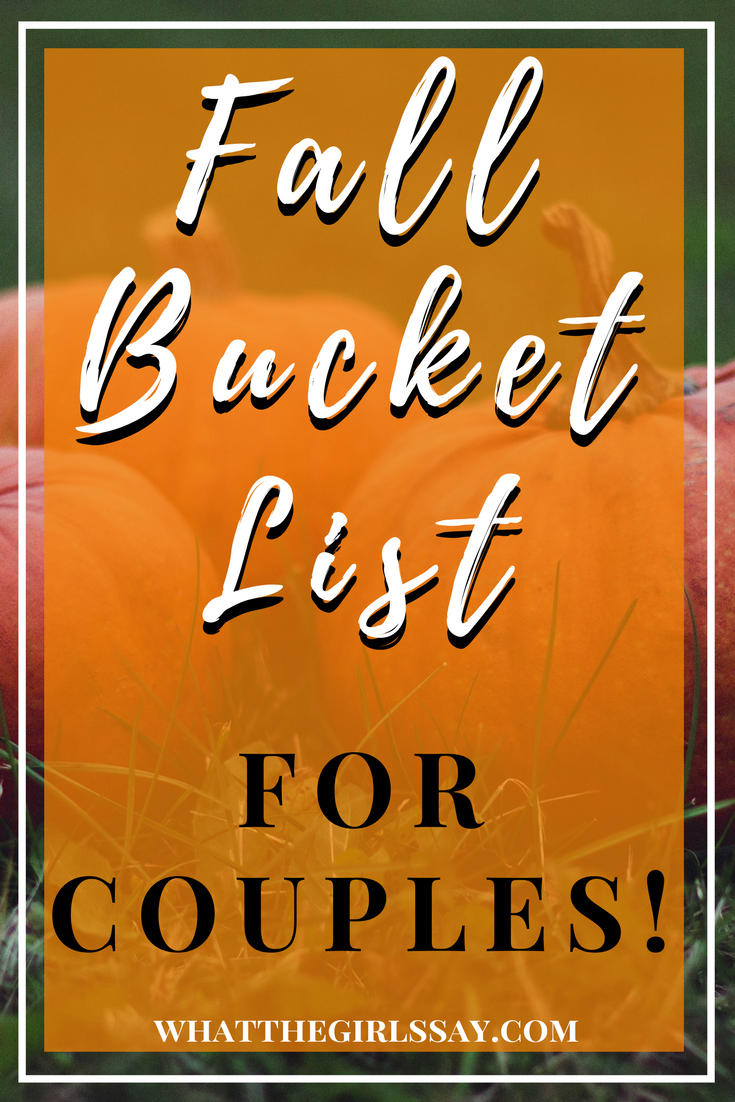 Fall Bucket List for Couples - Looking for great Fall Date Ideas? These are some of the most fun Fall Activities you will want to check off your list this year.  These can even be Fall Bucket List for Families!  Take your partner, kids, friends, or family on these awesome Fall Activity Ideas.