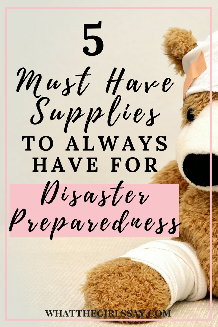 Disaster Preparedness - There have been so many natural disasters lately, that its time to take stock and make sure you are ready with your disaster preparedness kit. Do you have a disaster emergency kit ready? Its important to know what you need to be prepared for a natural disaster. Here are some important disaster emergency items you should always have ready in case of an emergency.