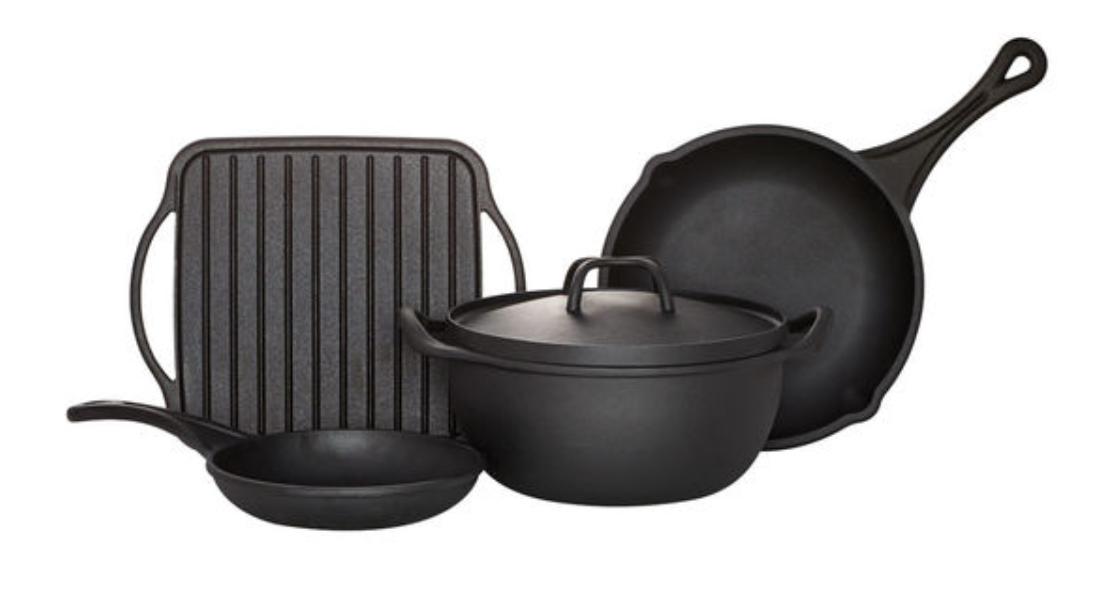 Cast Iron Pans from Pfaltzgraff