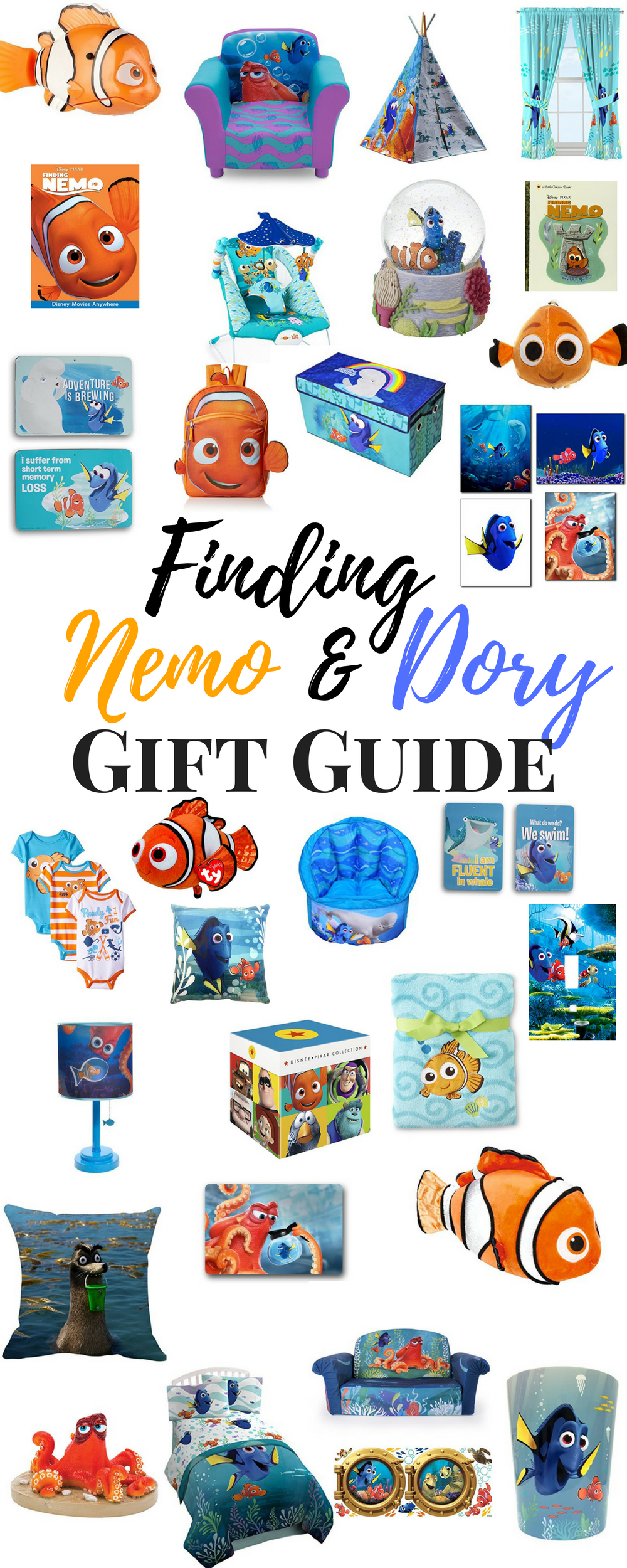 Finding Nemo and Finding Dory Gift Guide