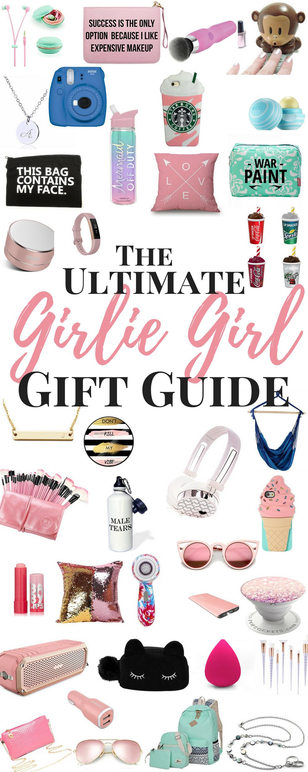 Gift Ideas for the Girlie Girl