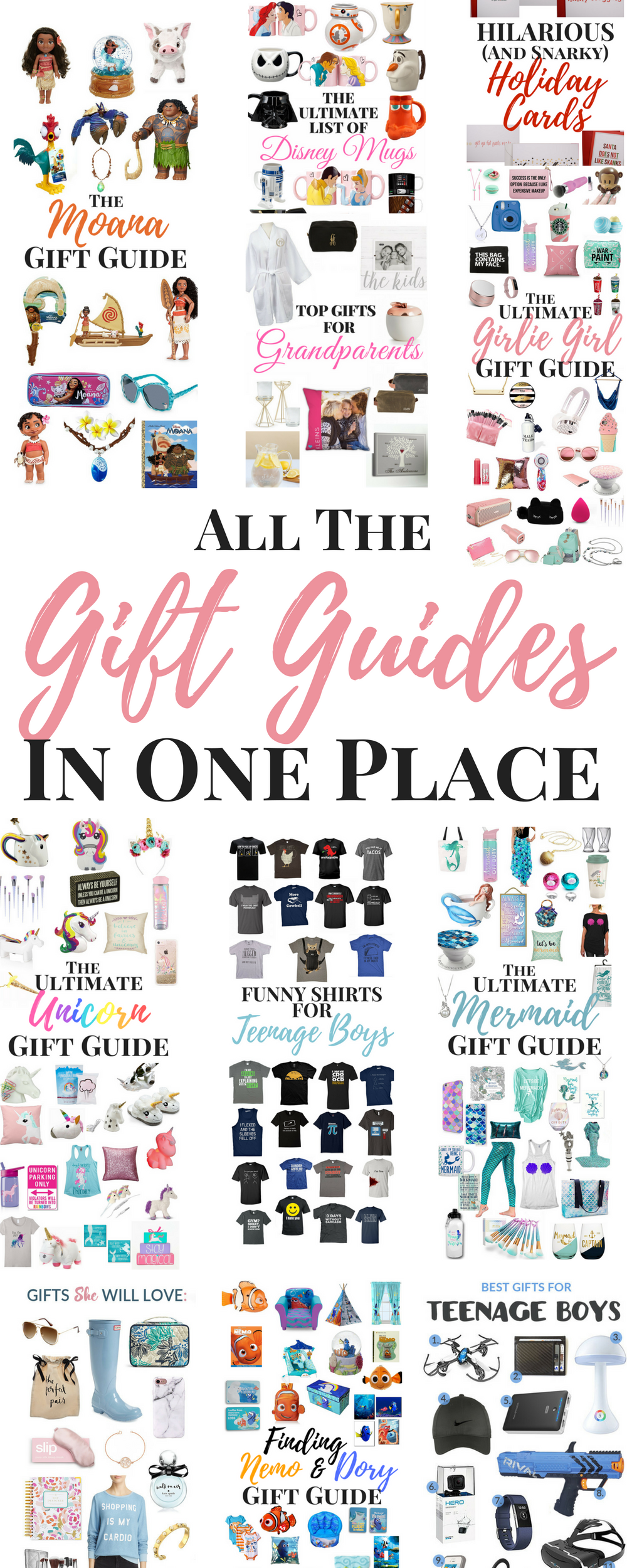 Gift Guides in one place