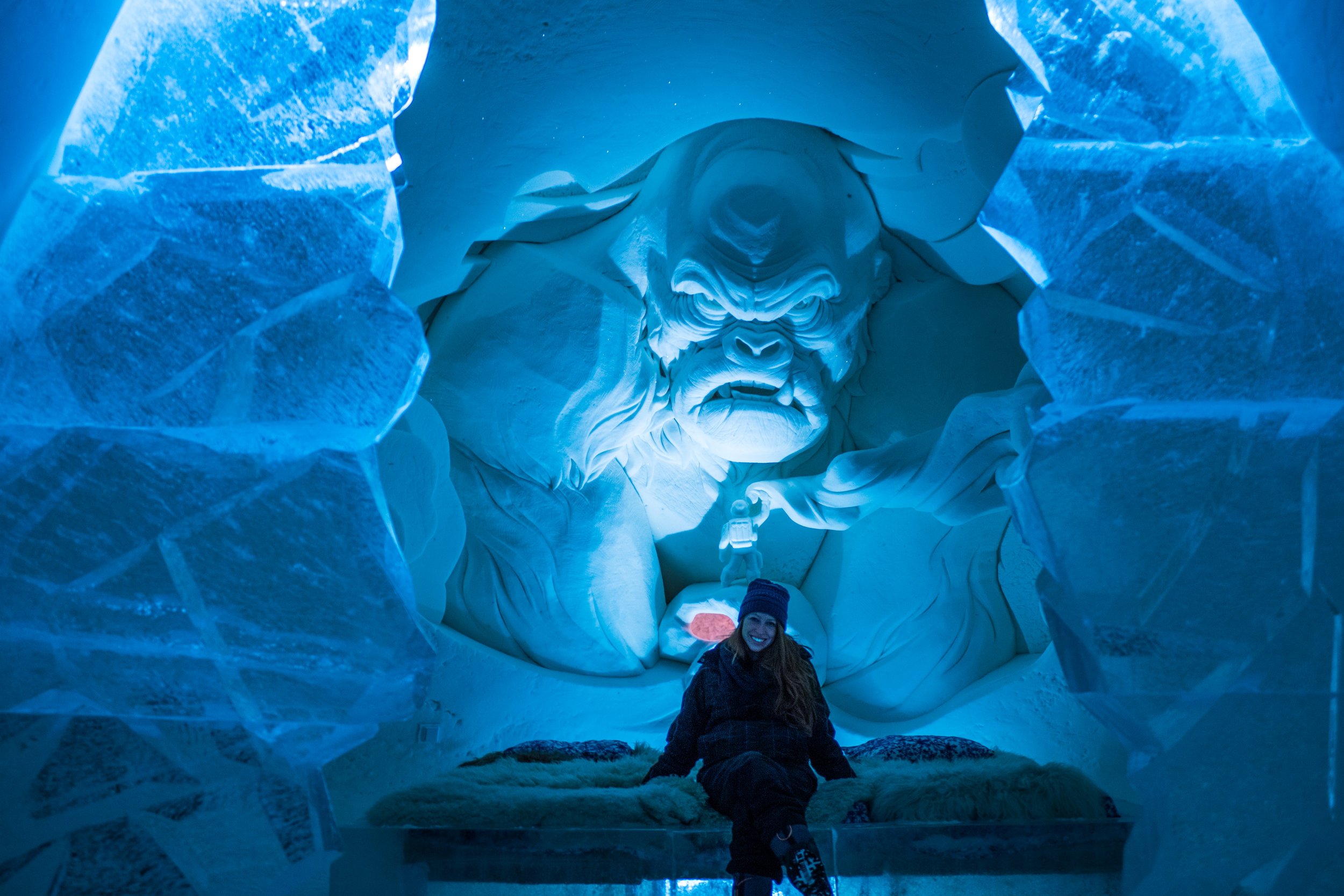 Snow Castle Kemi Finland - Snow Hotels / ice hotels in Lapland Finland