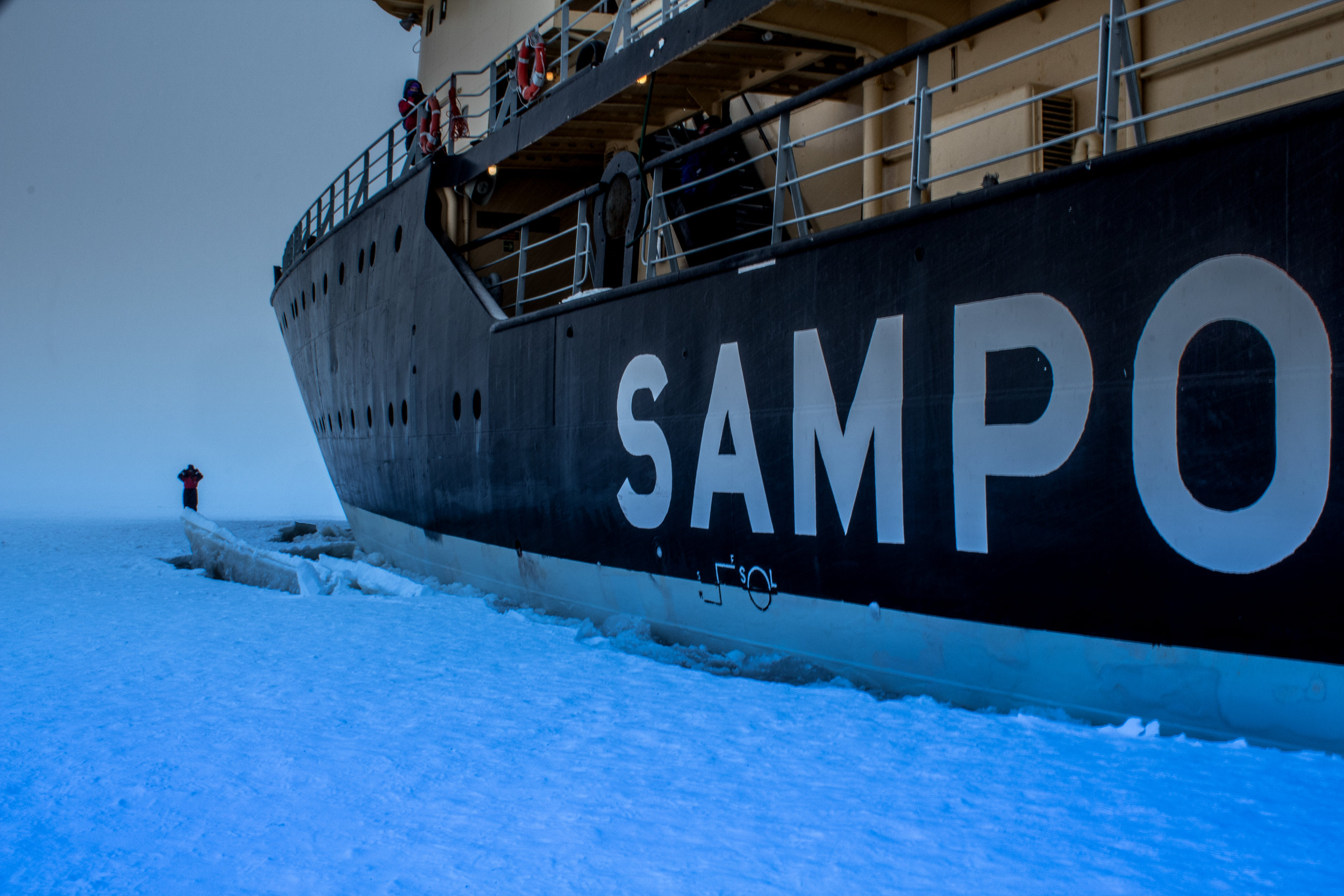 Icebreaker Sampo Cruise - Things to do in Lapland Finland - Icebreaker on the Baltic Sea