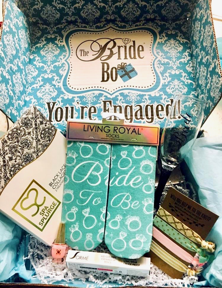Best Bridal Box Subscription Review- Newly Engaged Gifts - The Ring Box Review - Something New Bridal Box Review- The Bride Box Review