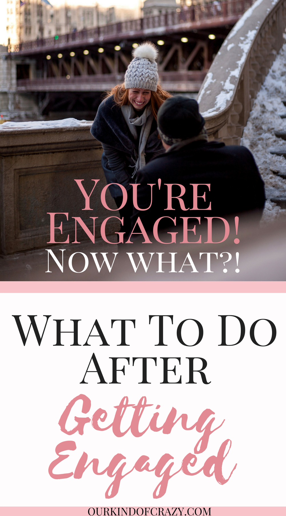 What to do when you get engaged...You're Engaged! Now what?! Here are things you should do after you get engaged. #engaged #weddingplanning #wedding