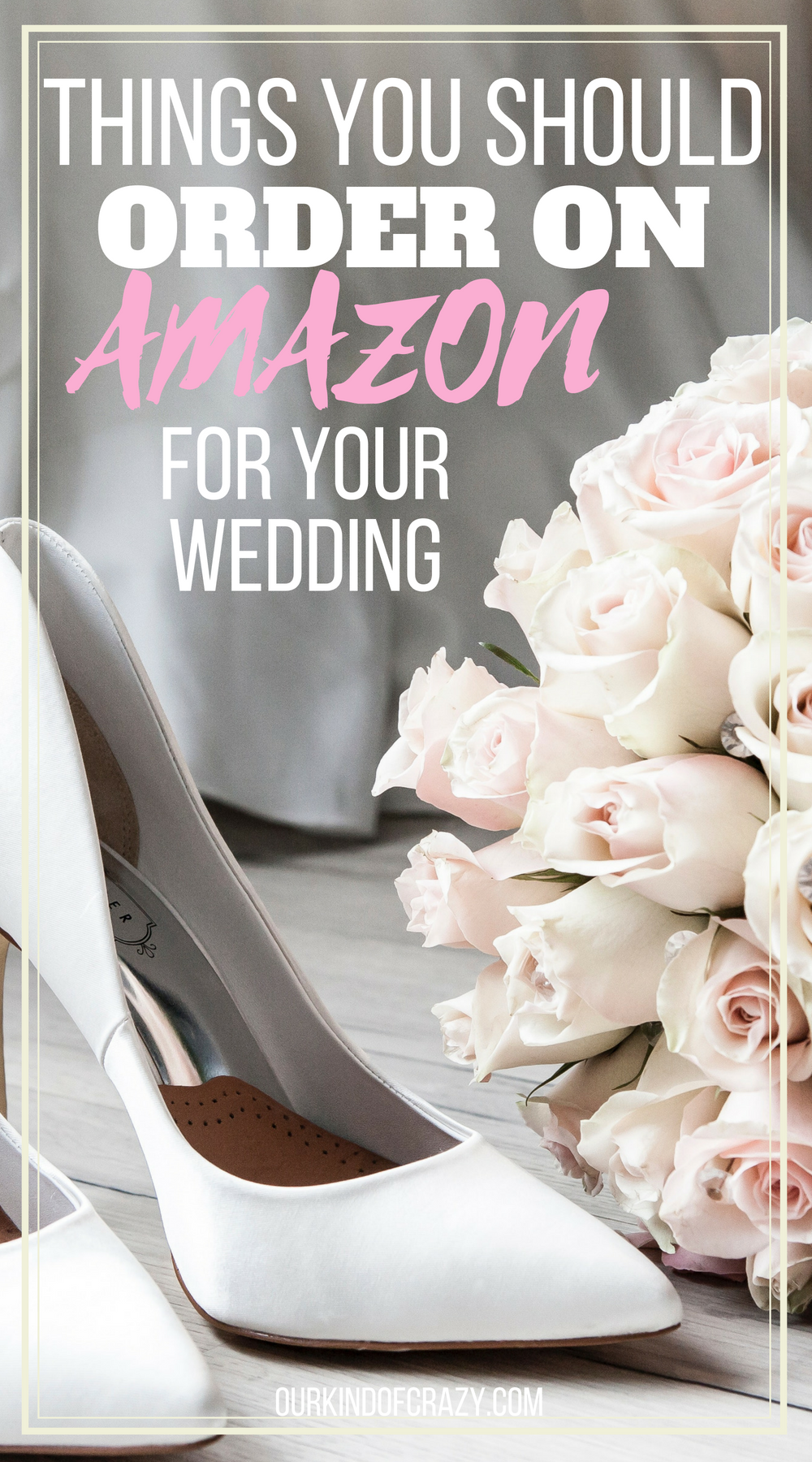 Things you should order on Amazon for Your Wedding